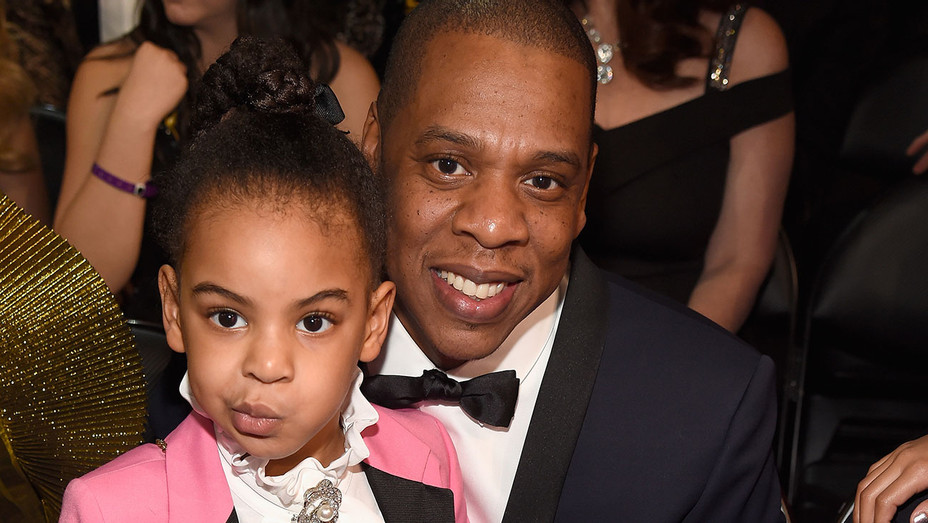 Blue Ivy Carter and Jay Z - Getty - H 2017