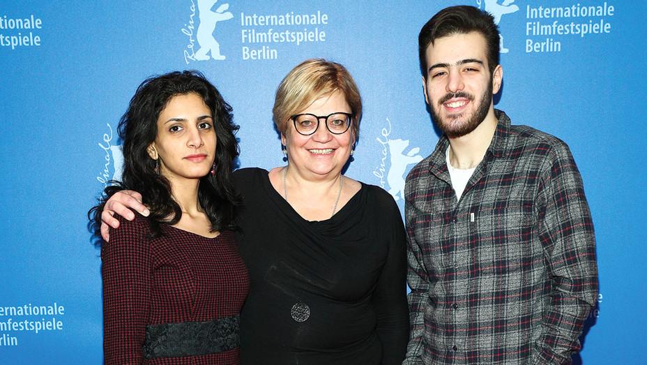 Berlin Fim Festival-Saudi Akbari -Anette Ruck - Roudi Layous -Publicity-H 2017