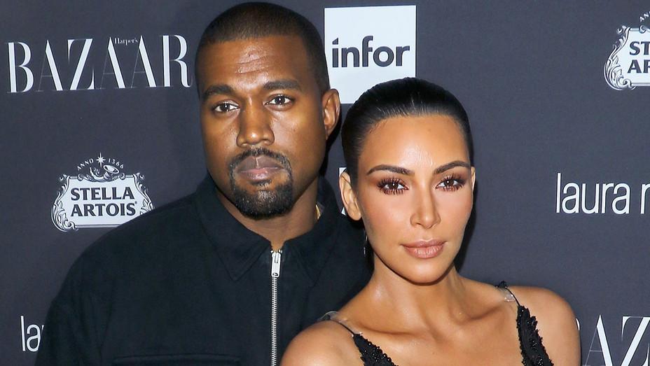 Kanye West and Kim Kardashian - Getty-H 2017