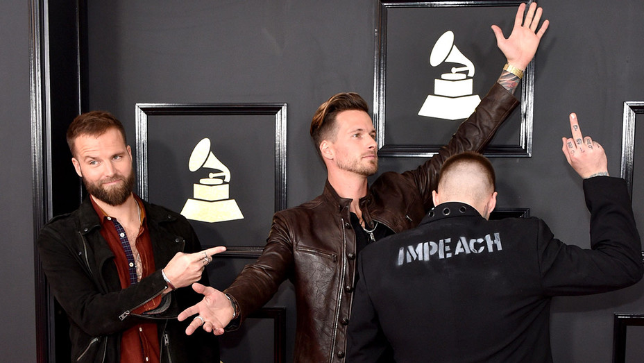 Highly Suspect attend The 59th GRAMMY Awards -Getty-H 2017