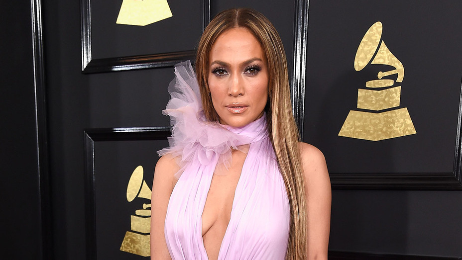 Jennifer Lopez -The 59th GRAMMY Awards -Getty-H 2017