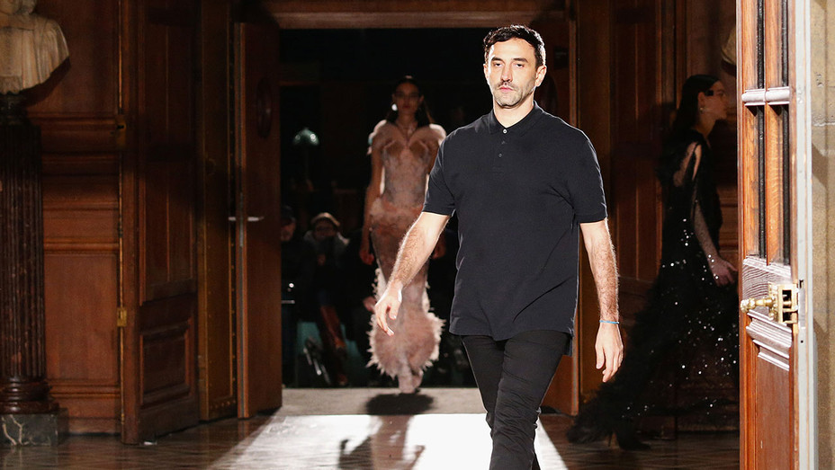 Riccardo Tisci walks the runway during the Givenchy Show- Getty-H 2017