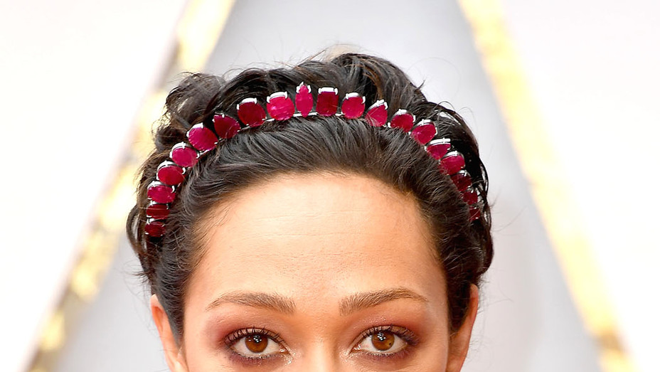 Ruth Negga attends the 89th Annual Academy Awards - Getty-P 2017