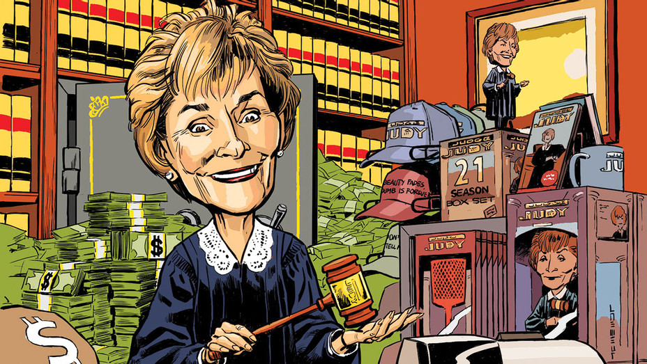 Judge Judy Shopping Her Old Reruns for $200 Million  -Illustration by Læmeur -H 2017