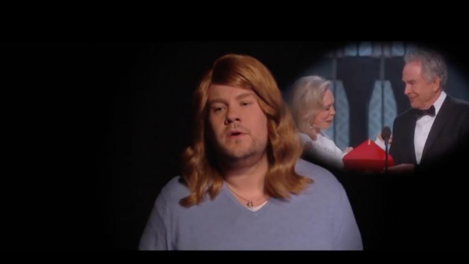 James Corden 'Late Late Show' La La Land - Screengrab - H 2017