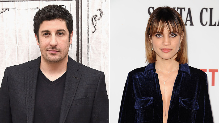 Jason Biggs and Natalie Morales_Split - Getty - H 2017