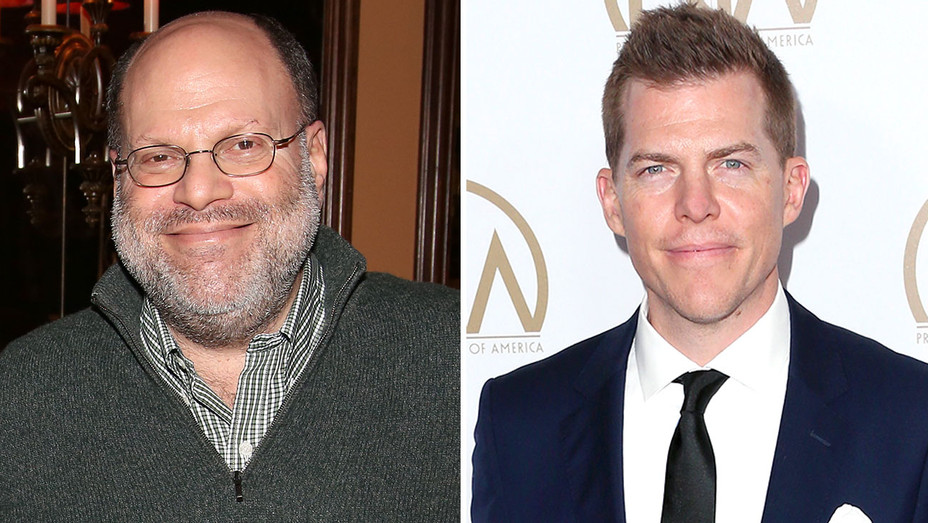 Scott Rudin and Kevin Walsh -Split- Getty-H 2017