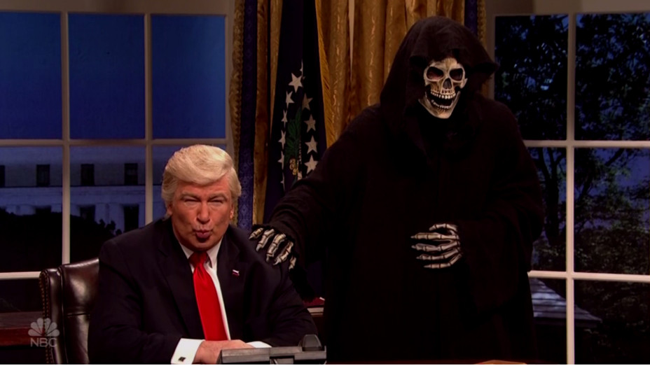 Trump Bannon SNL - H 2017