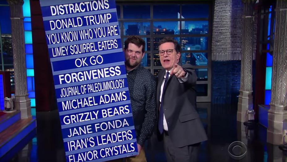 Stephen Colbert Trump On Notice - Screengrab - H 2017