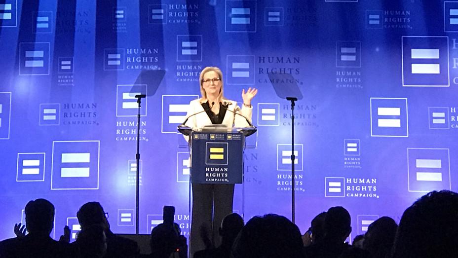 Meryl Streep at HRC Gala - H 2017 Staff