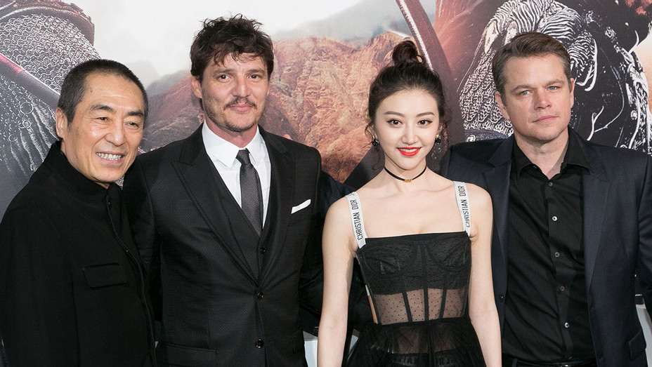 The Great Wall Premiere - Getty - H 2017