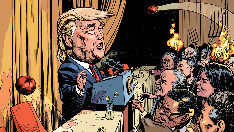 White House Correspondents' Dinner Lacks Buzz  - Illustration by Læmeur -H 2017