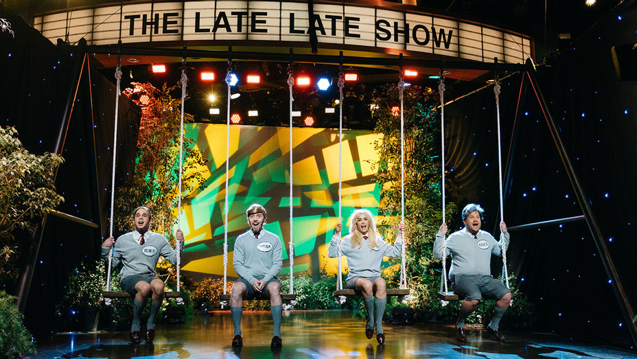 The Late Late Show with James Corden - Ben Platt, Abigail Spencer, and Tim Minchin -Publicity-H 2017