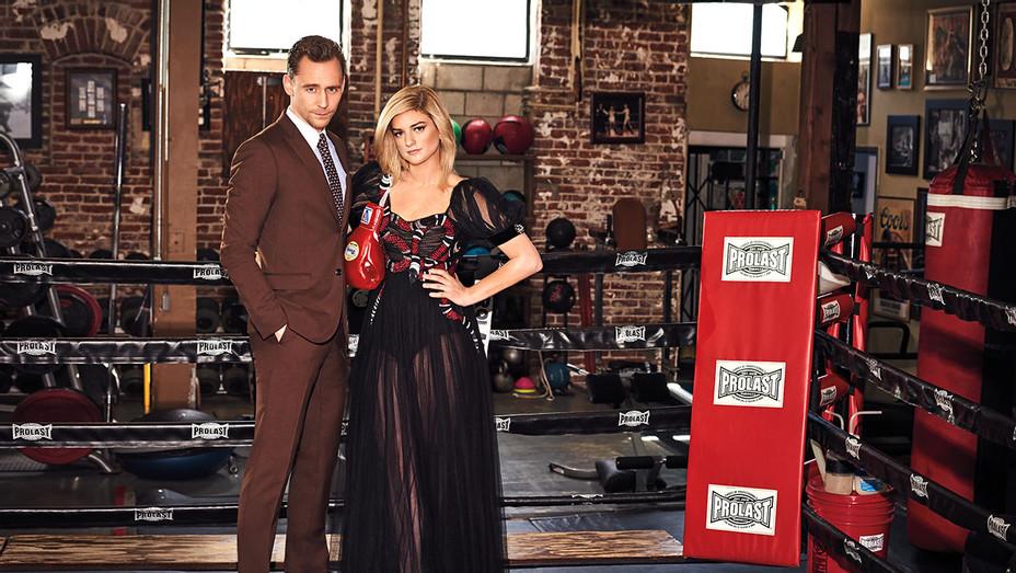 Tom Hiddleston and Ilaria Urbinati
