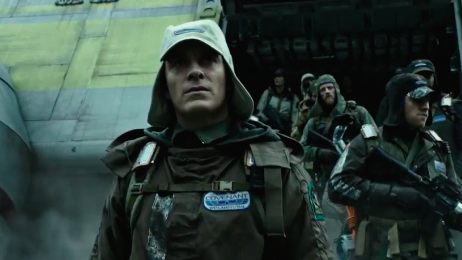Michael Fassbender - Alien Covenant Trailer 2 Still - H 2017