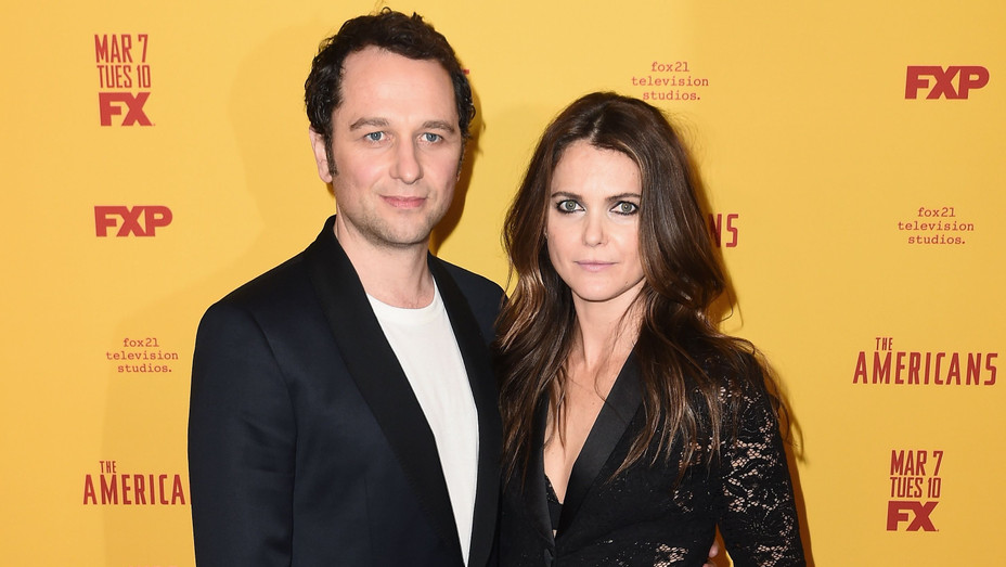 Matthew Rhys and Keri Russell at 'The Americans' Season 5 Premiere - H Getty 2017