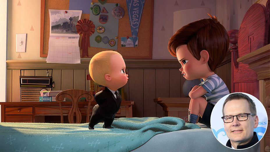 Boss Baby and Inset of Michael McCullers - Getty-H 2017