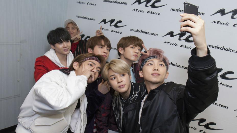Korean K-Pop Group BTS