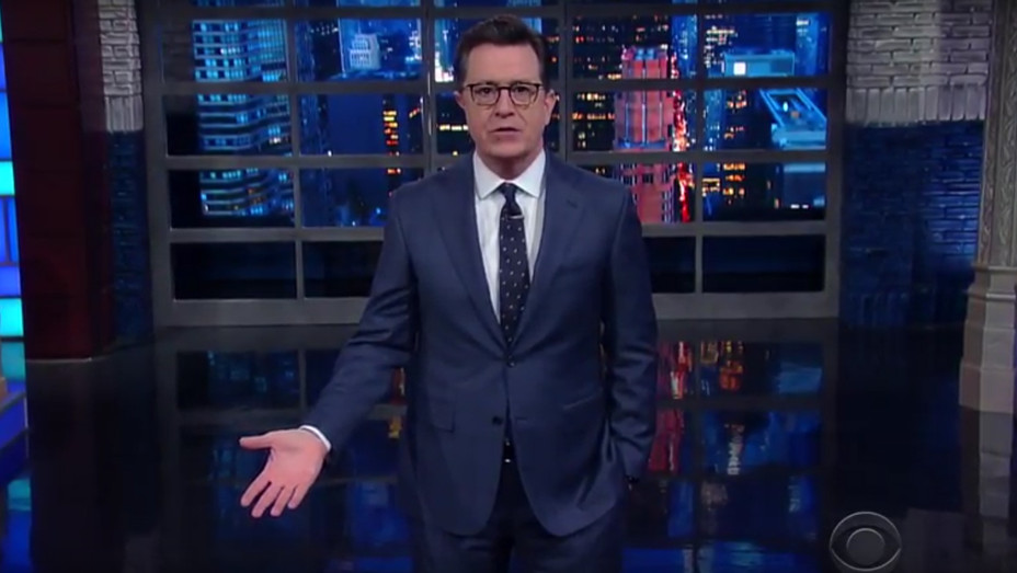 Stephen Colbert 'Late Show' Monologue - H 2017
