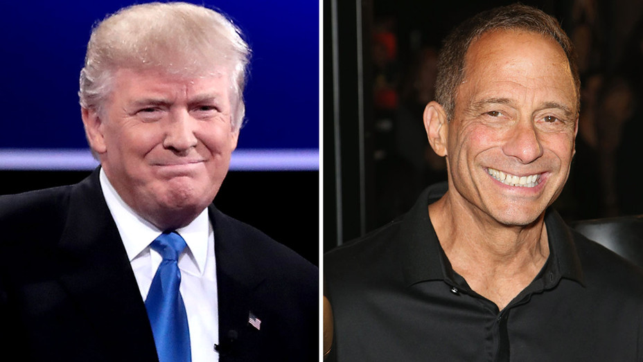 Donald Trump and Harvey Levin Split - Getty- H 2017