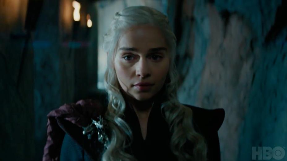 Emilia Clarke - Game of Thrones Season 7 Promo Still - H 2017