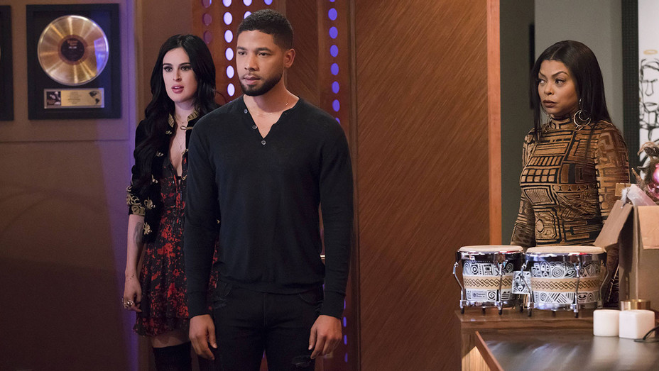 EMPIRE - Rumer Willis, Jussie Smollett and Taraji P. Henson - Publicity-H 2017