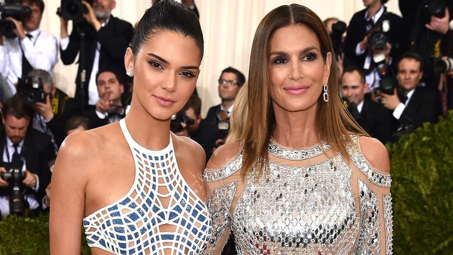 Kendall Jenner and Cindy Crawford -Manus x Machina - Getty-H 2017