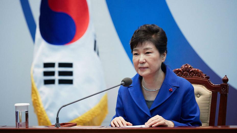 Park Geun-hye - Getty - H 2017