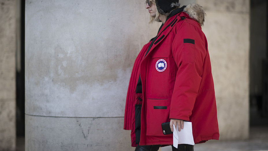 red Canada Goose jacket Paris Fashion Week Menswear - Getty - H 2017