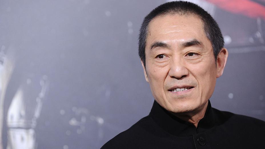 Director Zhang Yimou Great Wall Premiere - Getty - H 2017
