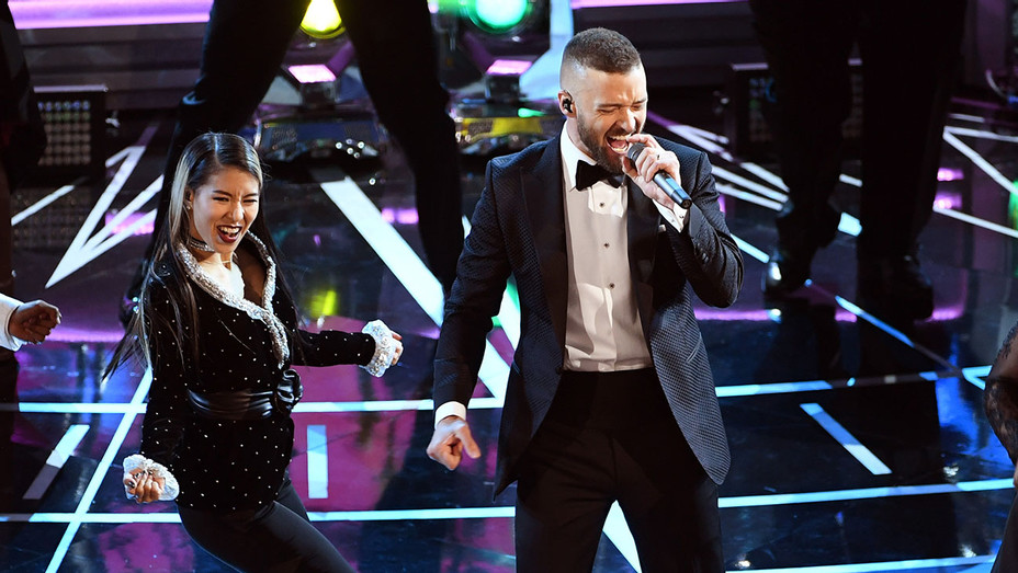 Justin Timberlake - performs onstage during the 89th Annual Academy Awards - Getty-H 2017