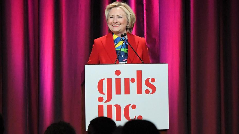 Hillary Clinton 2017 Girls Inc Speech - Getty - H 2017
