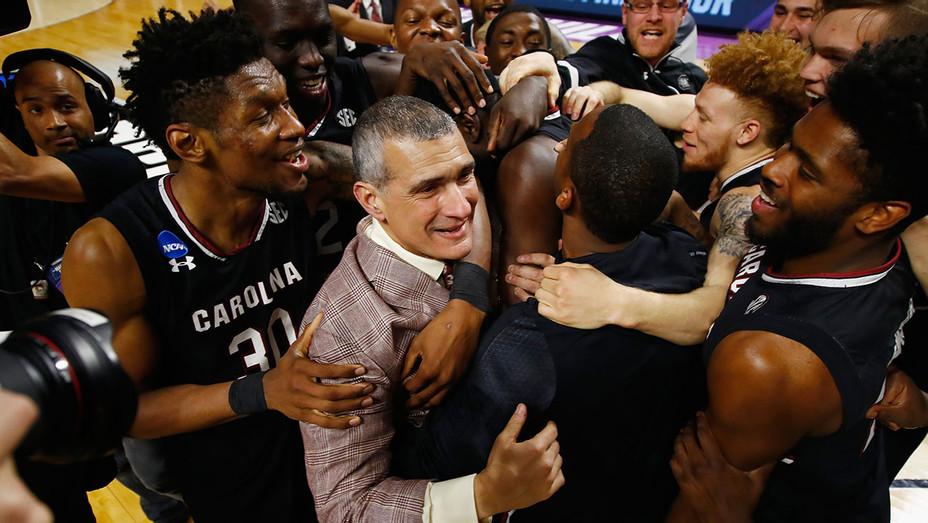 Coach Frank Martin South Carolina Gamecocks Win - Getty - H 2017