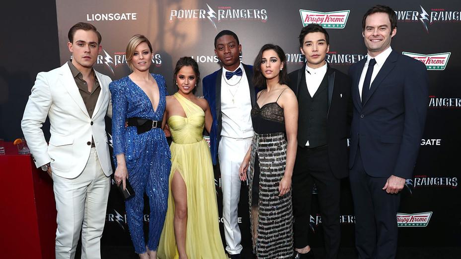 The LA Premiere of Saban's Power Rangers -cast- Getty-H 2017