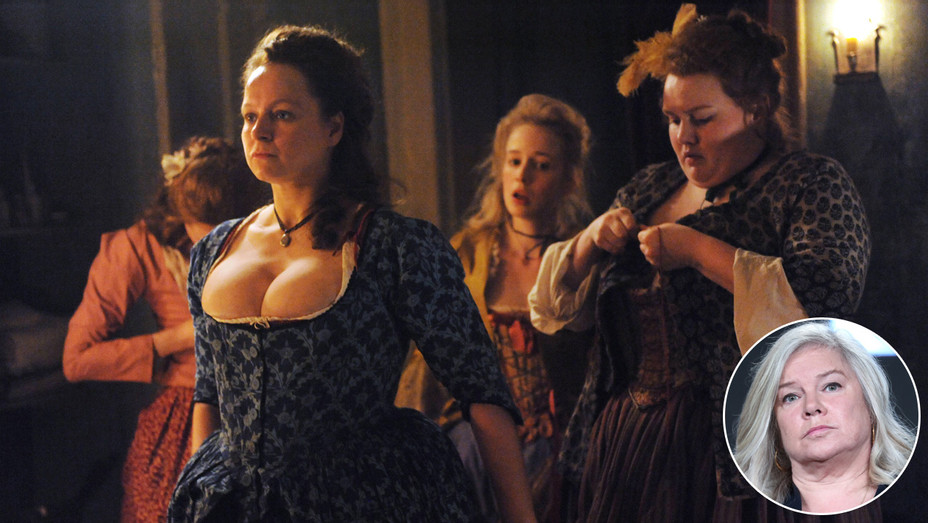 Harlots with Samantha Morton and Alison Owens_Inset - Getty - H 2017