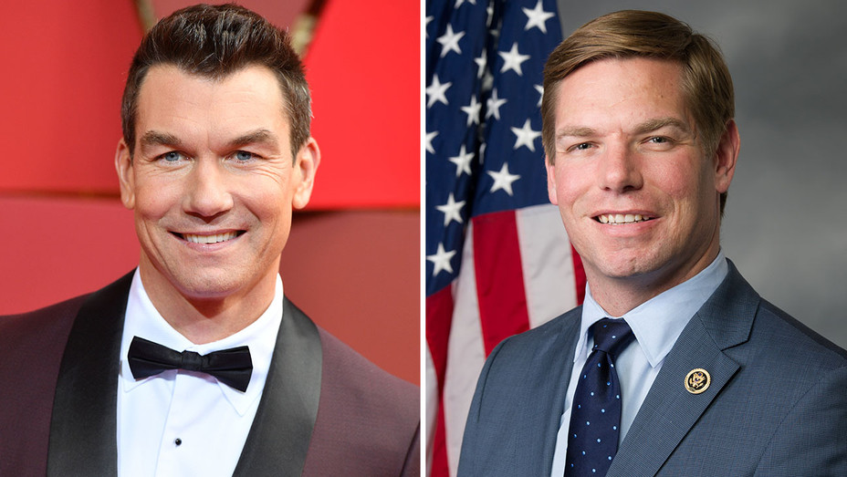 Jerry O Connell Rep Eric Swalwell - Getty - Publicity - H 2017