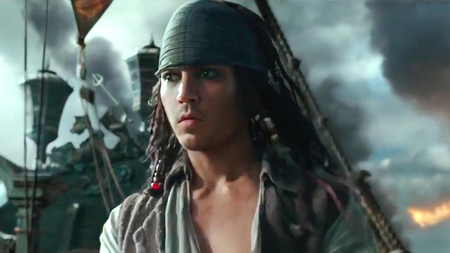 Johnny Depp - Pirates of the Caribbean Dead Men Tell No Tales Trailer Still H 2017