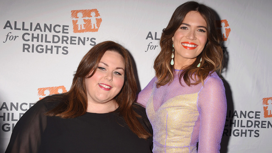 Mandy Moore and Chrissy Metz Attend Alliance for Children's Rights Dinner - Getty - H 2017