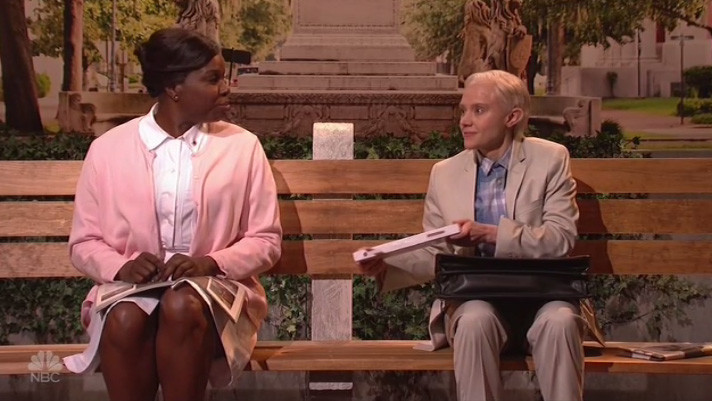 McKinnon as Sessions on SNL - H 2017
