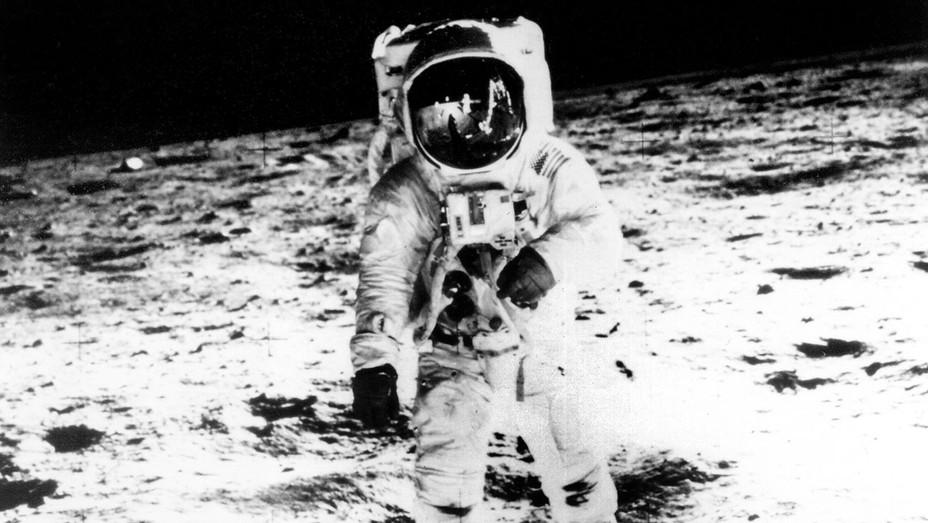 Neil Armstrong Moon Walk First Man - Photofest - H 2017