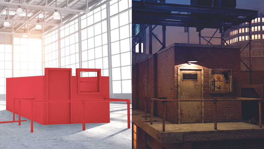 Nomadic VR Warehouse before and after - Publicity - H 2017