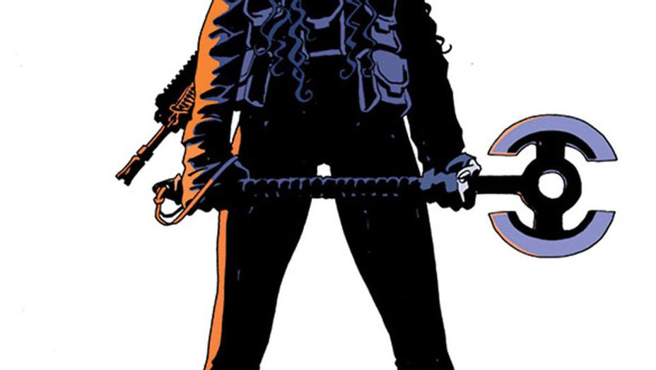 Old Guard Comic Cover - Publicity - P 2017