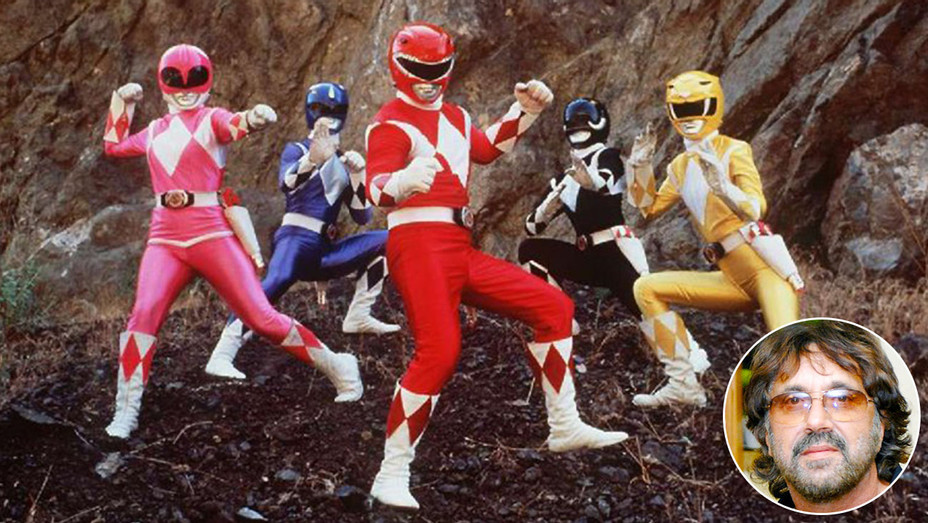 Power Rangers AND inset of Shuki Levy - Publicity-H 2017