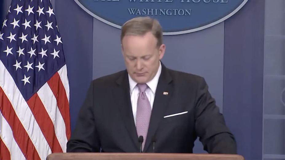 Sean Spicer Press Briefing March 10 - Screengrab - H 2017