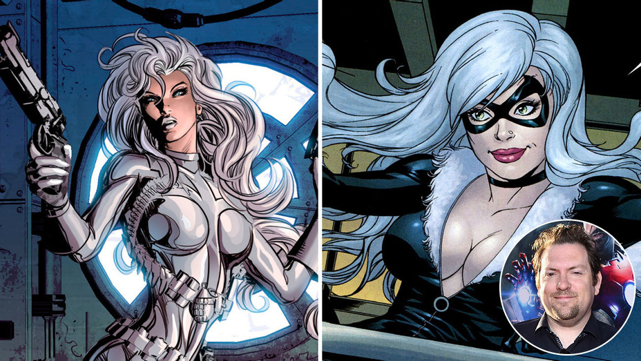 Silver Sable and Black Cat_Split_Christopher Yost_Inset - H 2017
