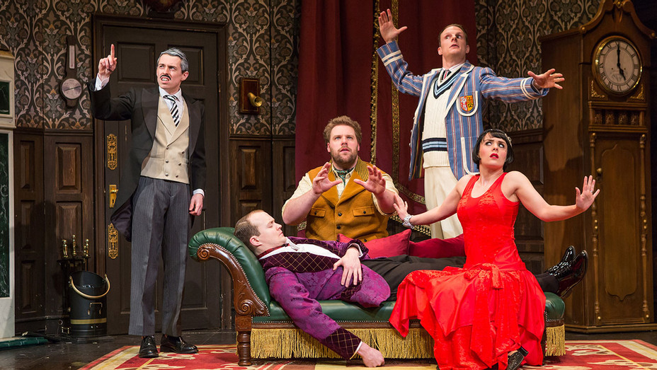The Play That Goes Wrong Production Still - Publicity - H 2017
