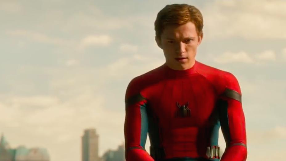 Tom Holland - Spider Man Homecoming Trailer 2 Still - H 2017
