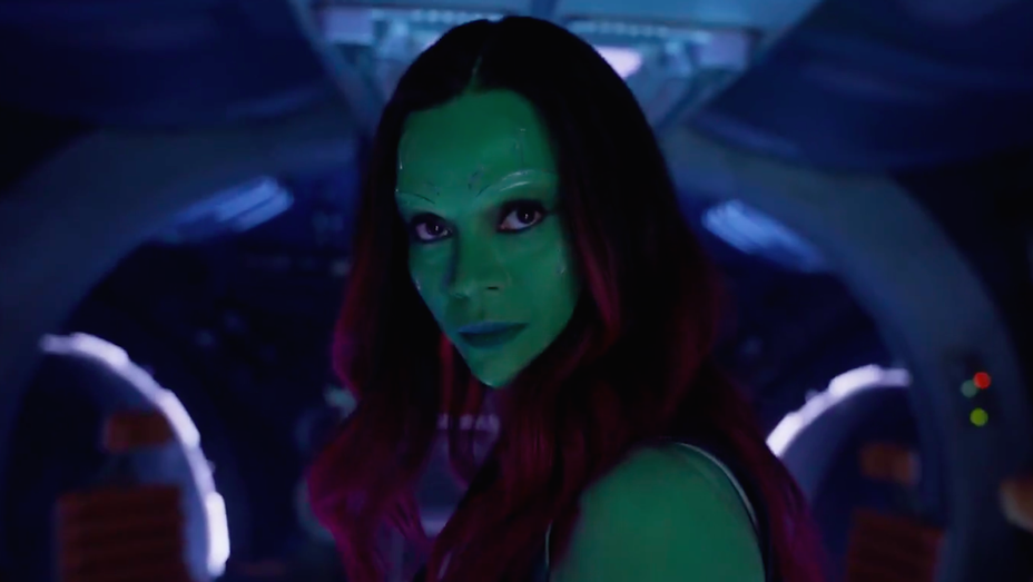 Zoe Saldana - Guardians of the Galaxy Vol 2 Trailer 2 - Still H 2017