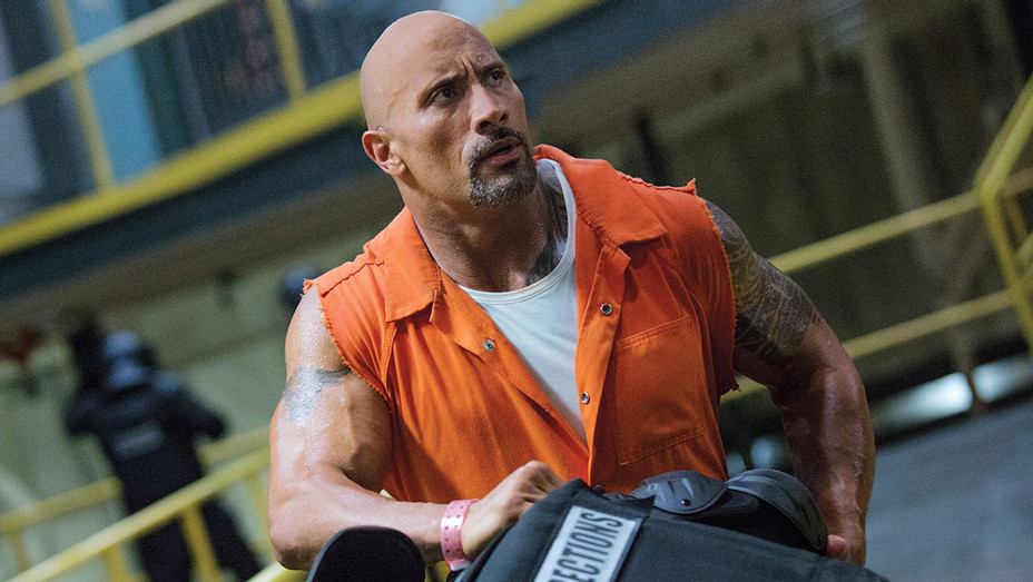 The Fate of the Furious -DWAYNE JOHNSON - Publicity- H 2017
