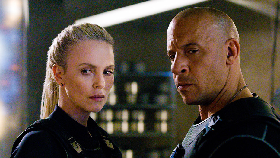 Fate of the Furious Still Charlize Theron and Vin Diesel - Publicity - H 2017